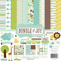 Kit carte Echo Park Bundle of Joy Boy