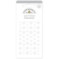 Sprinkles Enamel Dots Doodlebug Design - Lily White