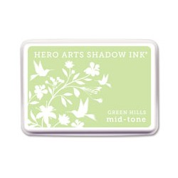 Tampone Hero Arts mid-tone Green Hills