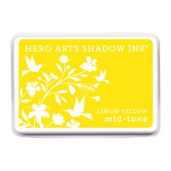 Tampone Hero Arts mid-tone Lemon Yellow