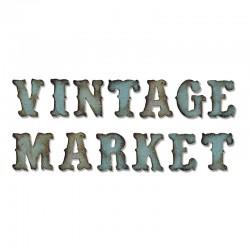 Fustella Sizzix Bigz XL T.Holtz - Vintage Market