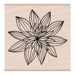 Timbro legno Hero Arts - Night Flower