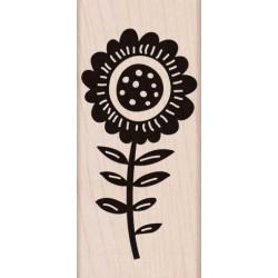Timbro legno Hero Arts - Big Bold Flower