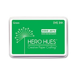 Tampone Hero Arts Dye Ink Green