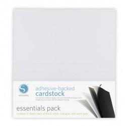 Pacco fogli adesivi Silhouette cardstock