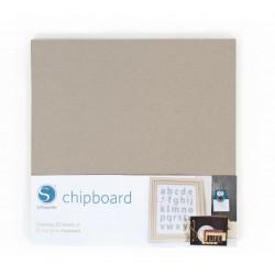 Pacco cartoncini Silhouette chipboard