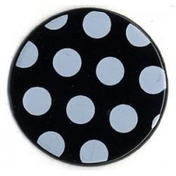 Polka dots Brads Bazzill - Black