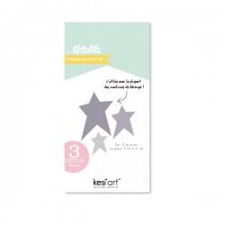 Fustella Kesi'Art - Métaliks 3 étoiles
