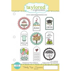 Timbri Cling Taylored Expressions - Totally Tags Occasions