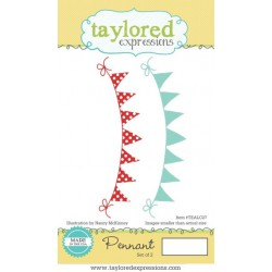 Timbri Cling Taylored Expressions - Pennant