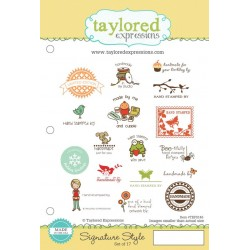 Timbri Cling Taylored Expressions - Signature Style