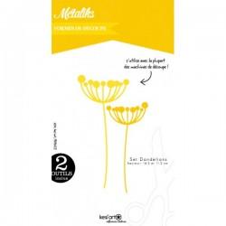 Fustella Kesi'Art - Métaliks dandelions