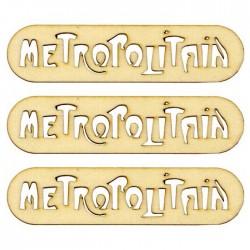 Abbellimenti in legno Artemio - Metropolitan