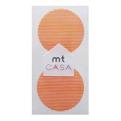 Carta washi cerchio mtCasa - Border daidai