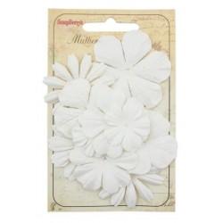 Fiori in carta ScrapBerry's - Flower Set 10