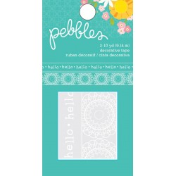 Scotch decorato Pebbles - Hello