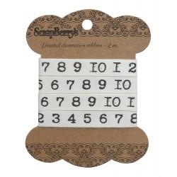 Nastro ScrapBerry's - Pank Numbers