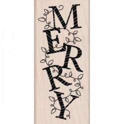 Timbro legno Hero Arts - Merry Lights