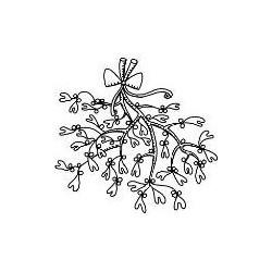 Timbro Legno Aladine - vischio
