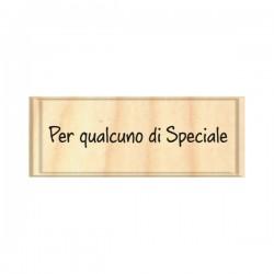 Timbro legno Safira - Per qualcuno di speciale