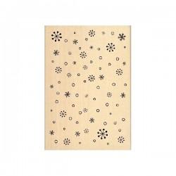 Timbro legno Florileges - Pluie de Fiocons