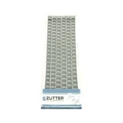 Zutter- 6 Spirali metalliche White Wires 1/2inch