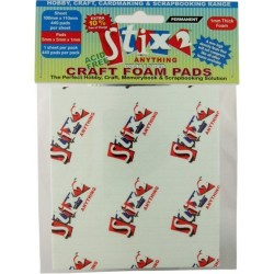 Craft foam pads 5x5x1 mm - Stix2