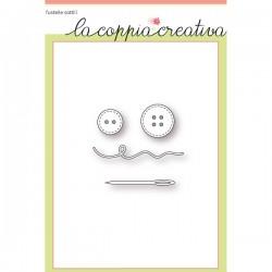 Fustella La Coppia Creativa Kit per il cucito