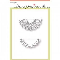 Fustella La Coppia Creativa Semicerchi decorativi