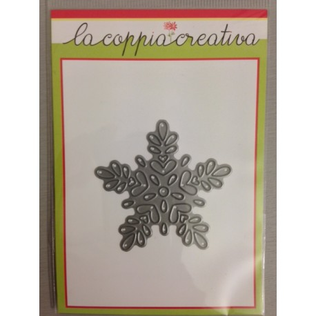 Fustella La Coppia Creativa fiocco di neve