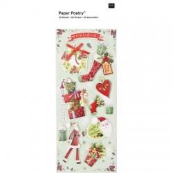 Stickers 3D Rico Design Paper Poetry - Big Present