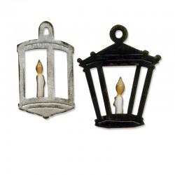Fustella Sizzix Bigz T. Holtz  - Hanging Lantern