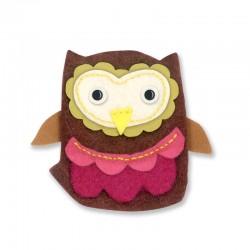 Fustella Sizzix Bigz - Owl 4