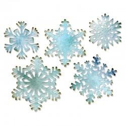 Fustella Sizzix Thinlits T. Holtz - Paper Snowflakes