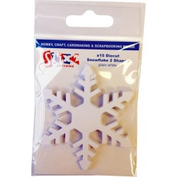 Fiocchi di neve in carta Stix2 - Plain White 2