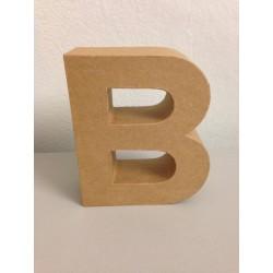 Lettera in Cartone Glorex - B