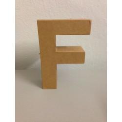 Lettera in Cartone Glorex - F