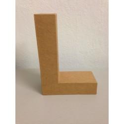 Lettera in Cartone Glorex - L