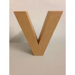 Lettera in Cartone Glorex - V