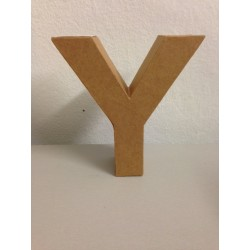 Lettera in Cartone Glorex - Y