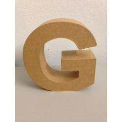 Lettera in Cartone Glorex - G