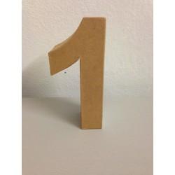 Numero in Cartone Glorex - 1
