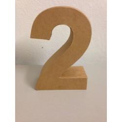 Numero in Cartone Glorex - 2