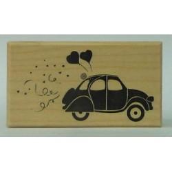 Timbro in legno Artemio - Macchina Sposi
