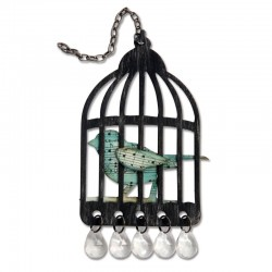 Fustella Sizzix Bigz T.Holtz - Caged Bird