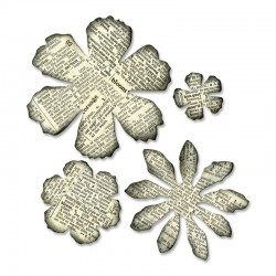 Fustella Sizzix Bigz T.Holtz - Tattered Florals