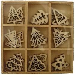 Abbellimenti in legno Artemio - Alberi di Natale
