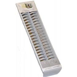 Zutter- 4 Spirali metalliche White Wires 1 1/4inch