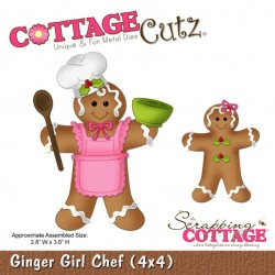 Fustella Cottage Cutz - Ginger Girl Chef