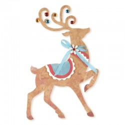 Fustella Sizzix Bigz B.Walton -  Reindeer